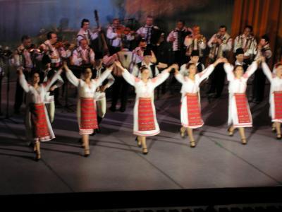 Baile típico de Rumanía