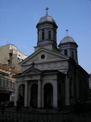 Bucarest: ciudad de iglesias.