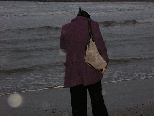 Yo en el mar Negro